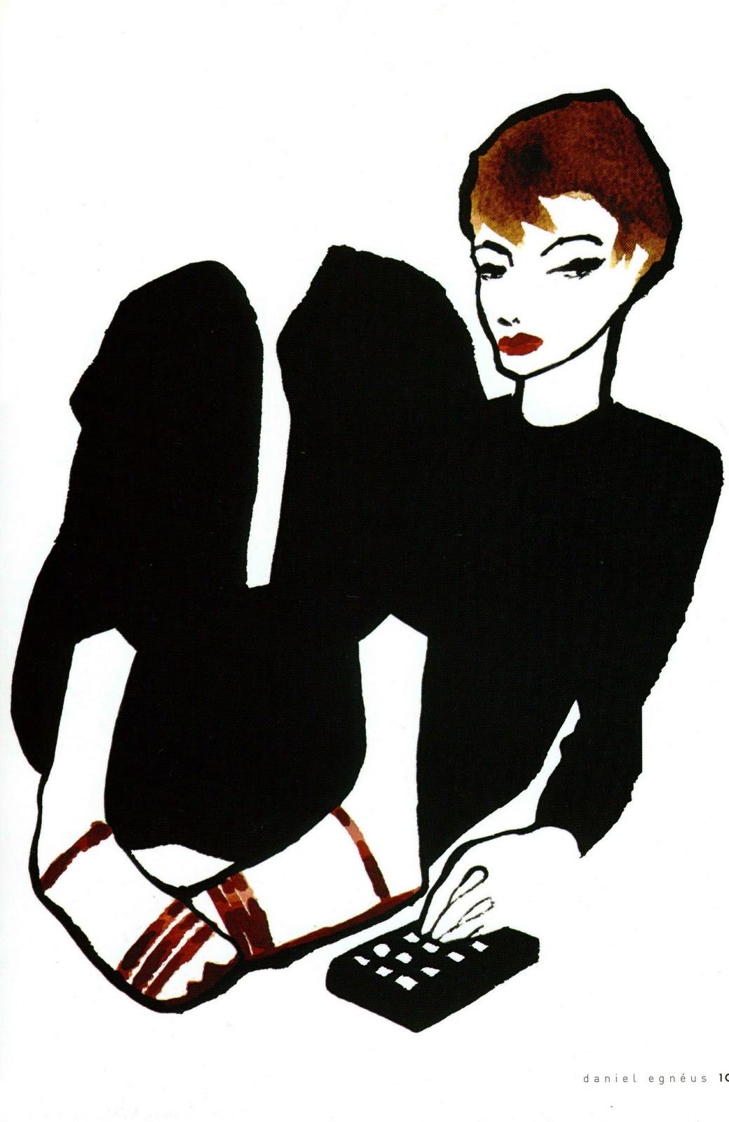 Daniel Egnéus | Fashion Illustration | Pinterest ...