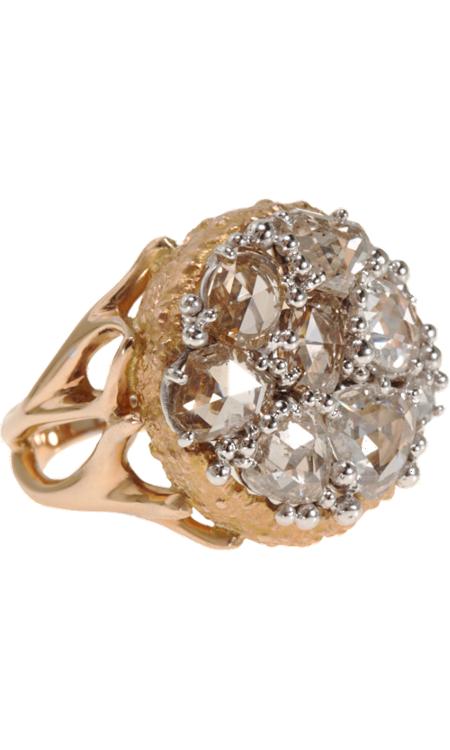 Federica Rettore Diamond Daisy Ring