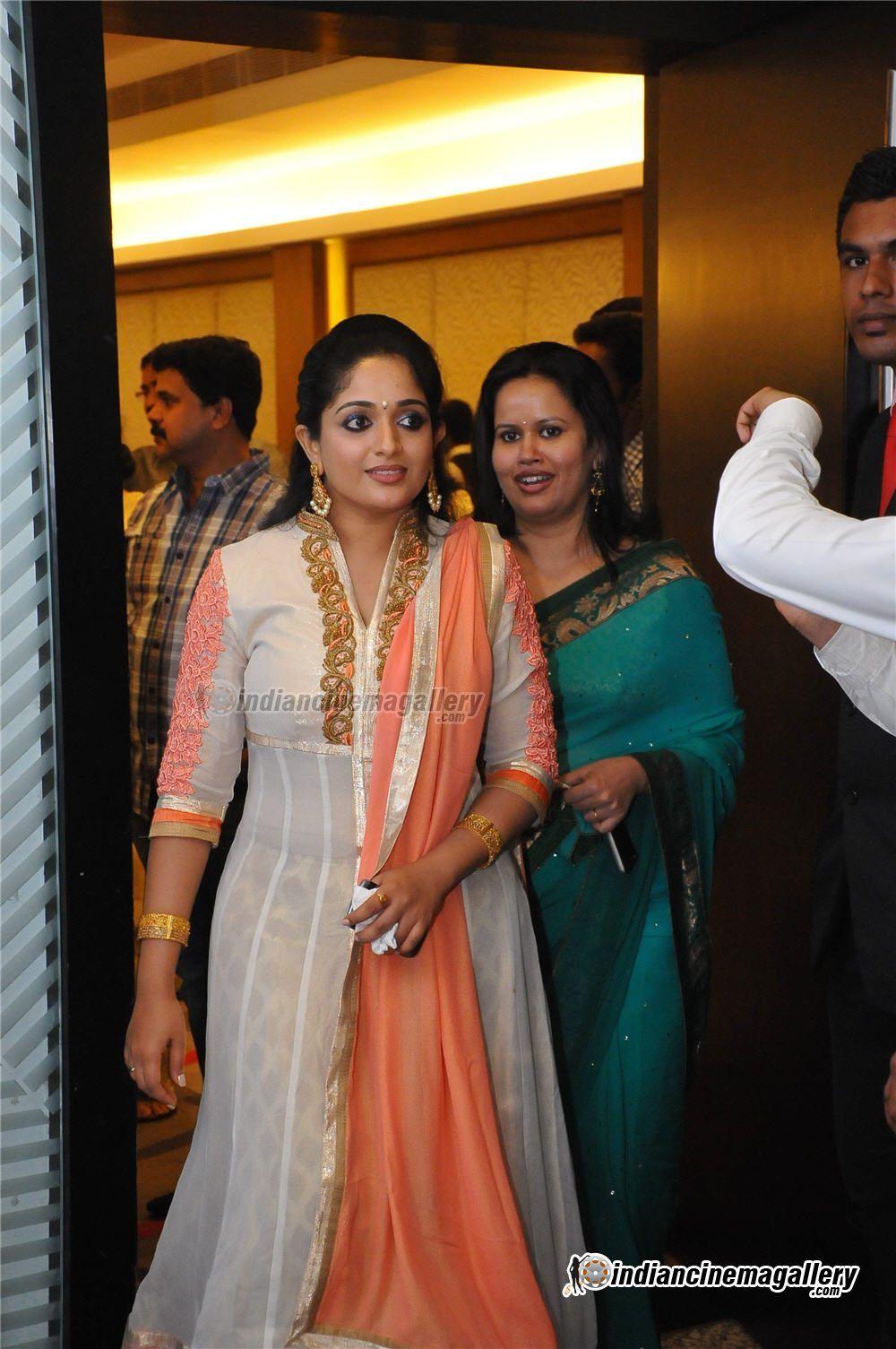 Kavya Madhavan At Samvritha Sunil Marriage Reception Mollywood