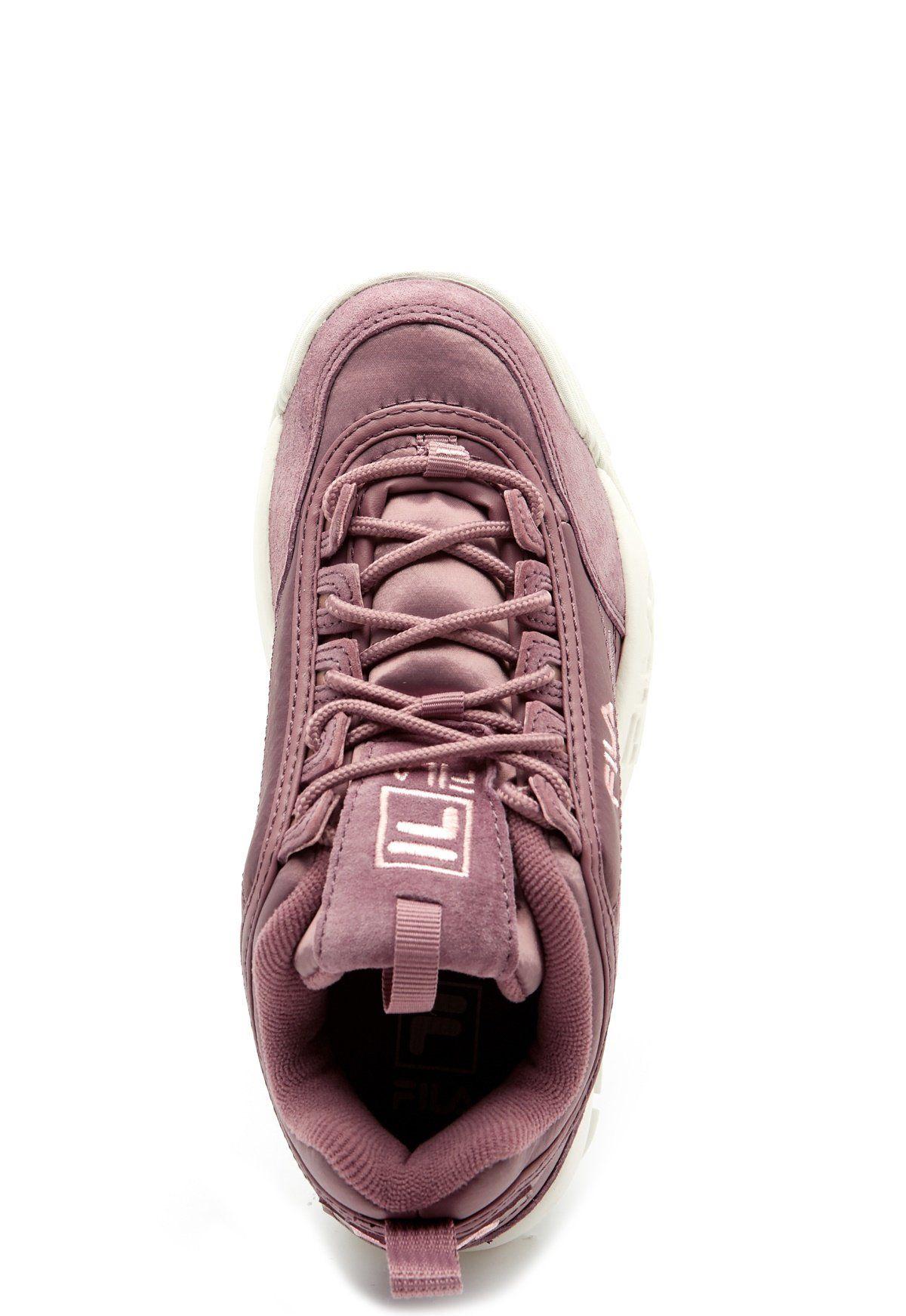 najlepszy dostawca Najnowsza moda 100% najwyższej jakości FILA Disruptor Satin Low Boots Ash Rose - Bubbleroom ...