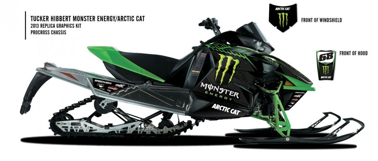 Monster Energy Snowmobile Cars Trucks Bikes Boats Toys
