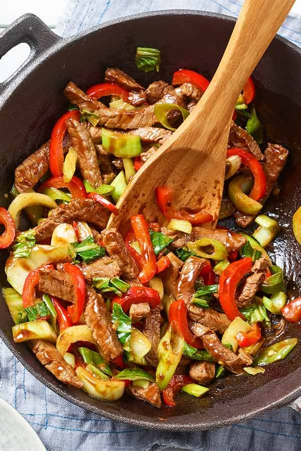 Photo of Pak Choi Beef Teriyaki | maggi.de