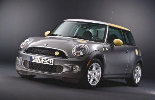 Mini E Electric Car Energy Efficient Vehicles Mini Cooper Models