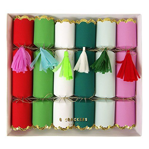 meri meri tassel crackers set of 6 meri meri httpwww
