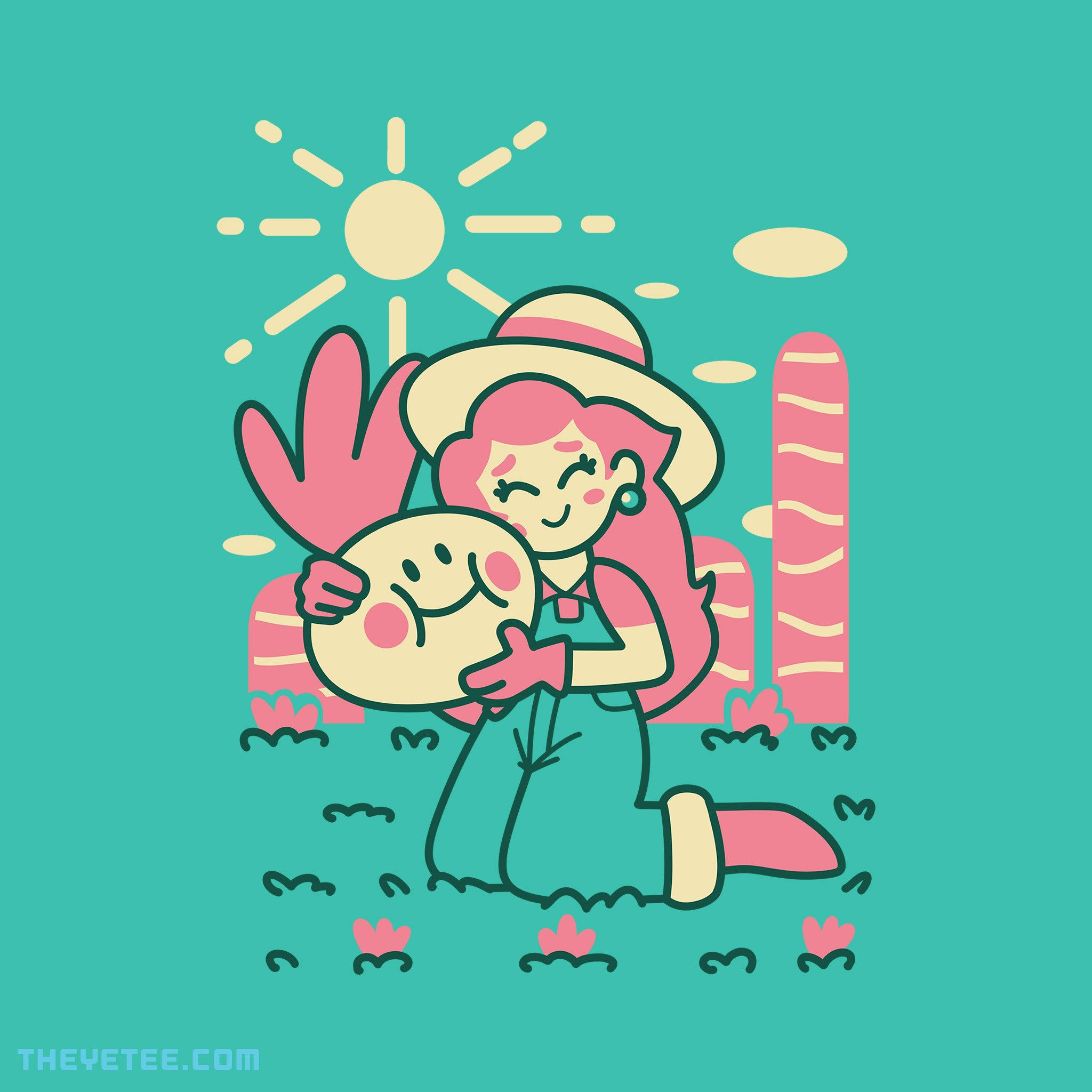 Garden Cutie from The Yetee Day of the shirt, Cutie, Yetee
