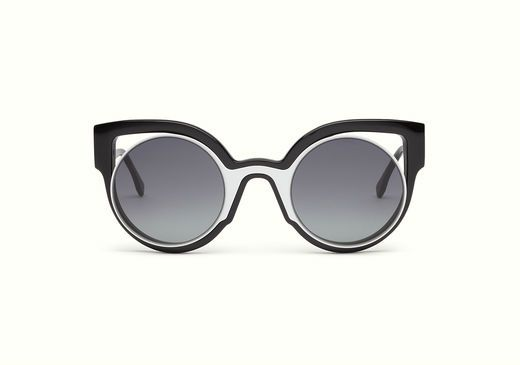 Paradeyes sunglasses - White Fendi 98791nypO