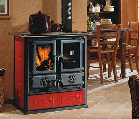 Estufa cocina rosetta cocina econ mica estufa horno - Cocinas de lena ...