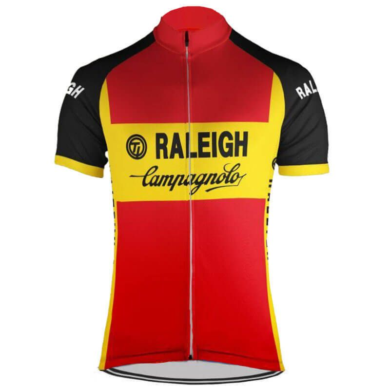 2f8077d48 Retro 1980 TI Raleigh Campagnolo Cycling Jersey