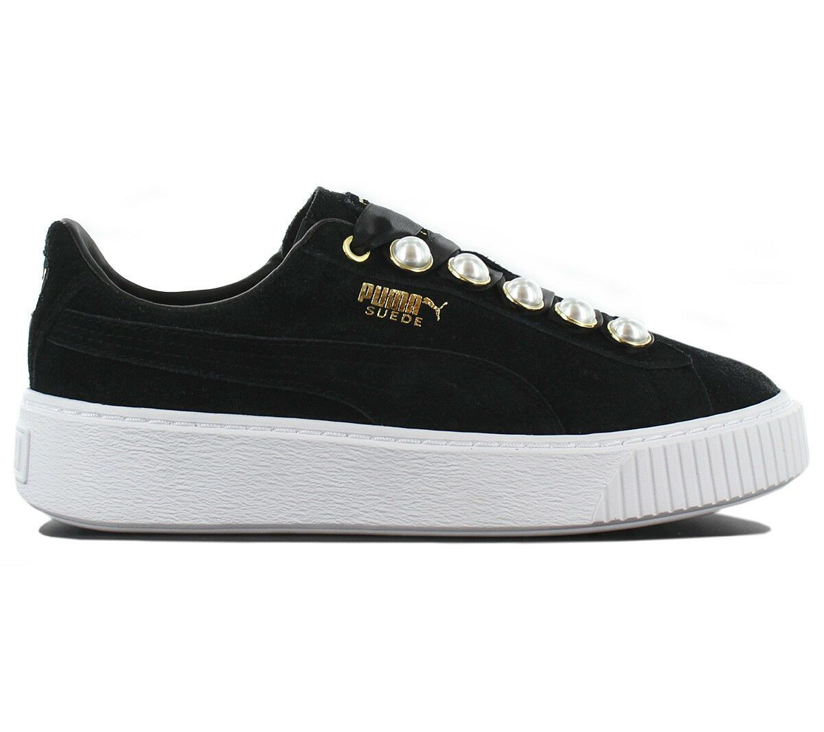 Puma Suede Platform Bling Damen Sneaker Schuhe Leder Schwarz 366688 01 Turnschuh In 2020 Nike Schuhe Sneakers Vans Authentic Sneaker