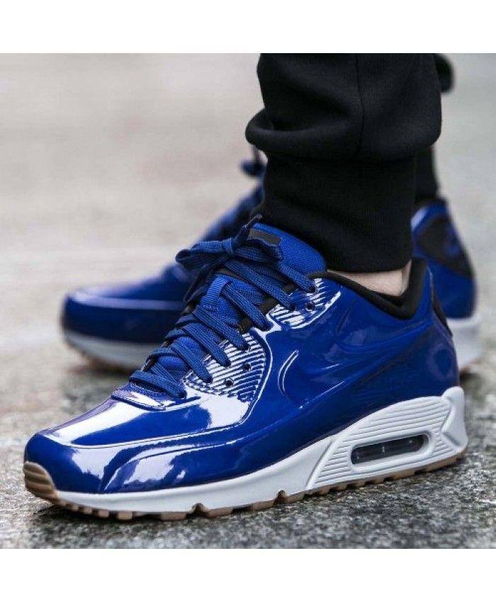 Cheap Nike Air Max 90 VT Deep Royal Blue Wolf Grey Mens