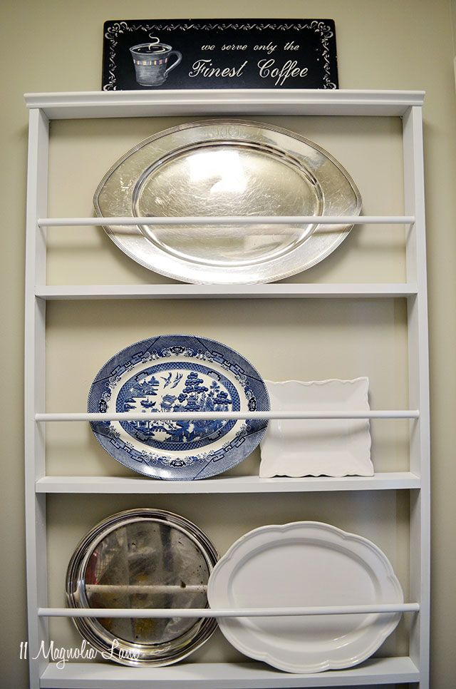 DIY Custom Plate Rack (For $40!) | Build It/Paint/Furniture ...