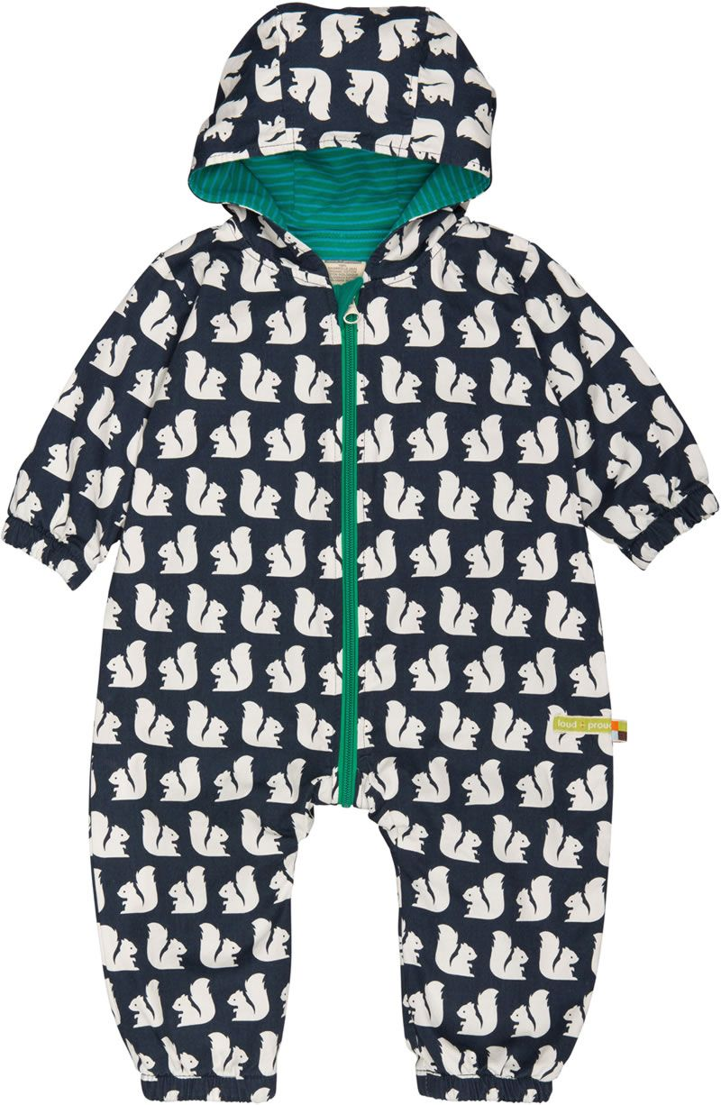 loud proud Baby-Jungen Outdoor Overall Organic Cotton Strampler