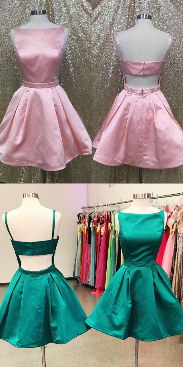 Green homecoming dressshort prom d green homecoming dresses