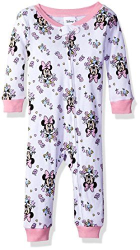 555598301 Disney Baby Girls Infant Minnie Mouse Sleeper White 12M >>> You can find  out more details at the link of the image.Note:It is affiliate link to  Amazon.