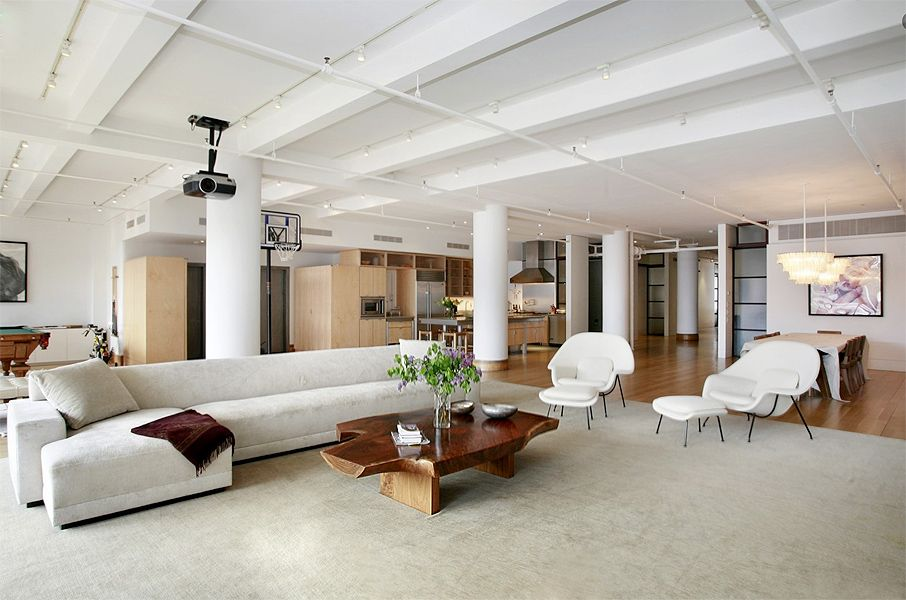 soho loft living room contemporary home decor ideas