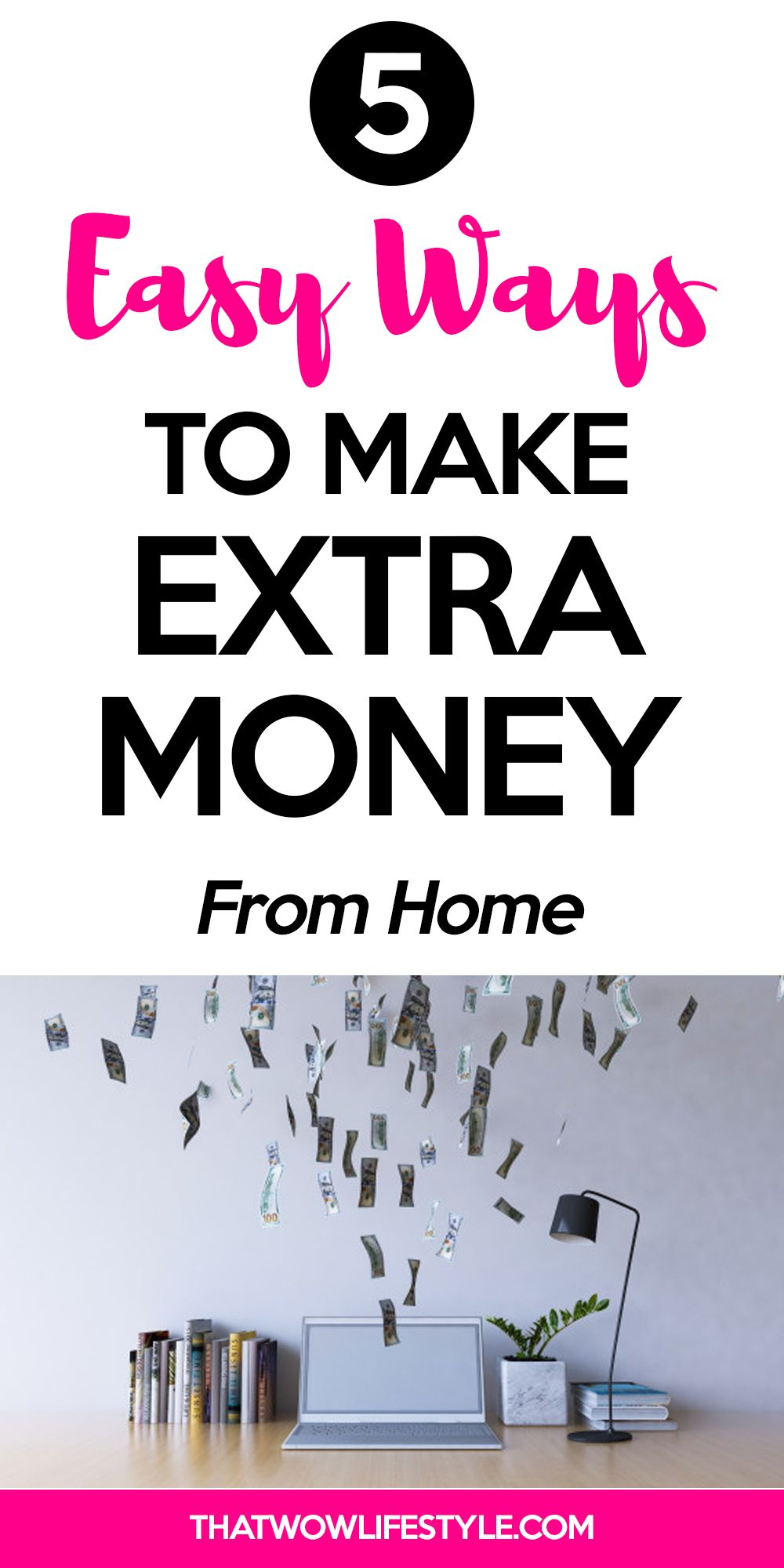 Easy Ways To Make Extra Cash From Home In 2020 Making