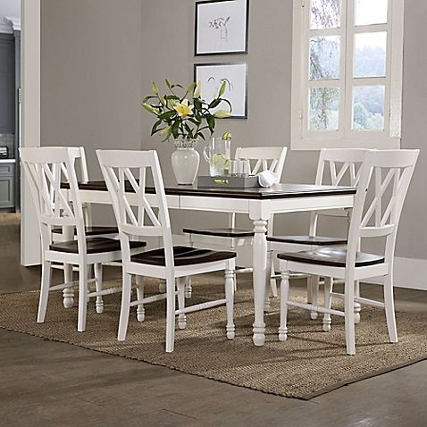 Crosley Furniture Shelby Dining Collection in White