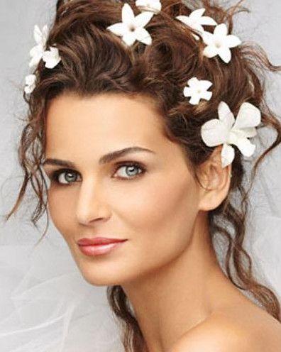 Bridal makeup for green eyes brown hair | Samantha's Wedding ...