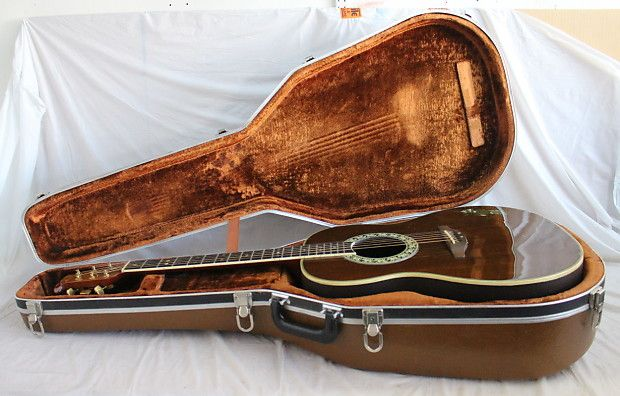 ovation patriot limited edition (#1275 out of 1776) acoustic guitar in good  overall