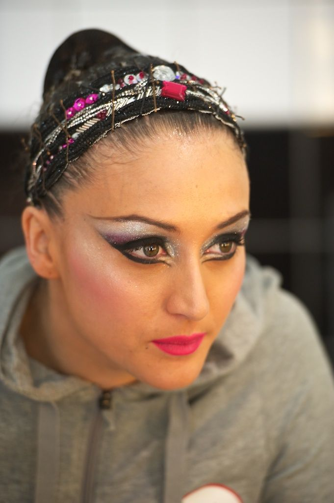 NEWS OPEN MAKE UP Natation synchronisée, Maquillage