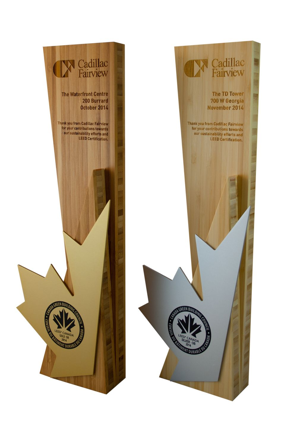 Leed Certification Plaques Reinvented Trophies N Awards