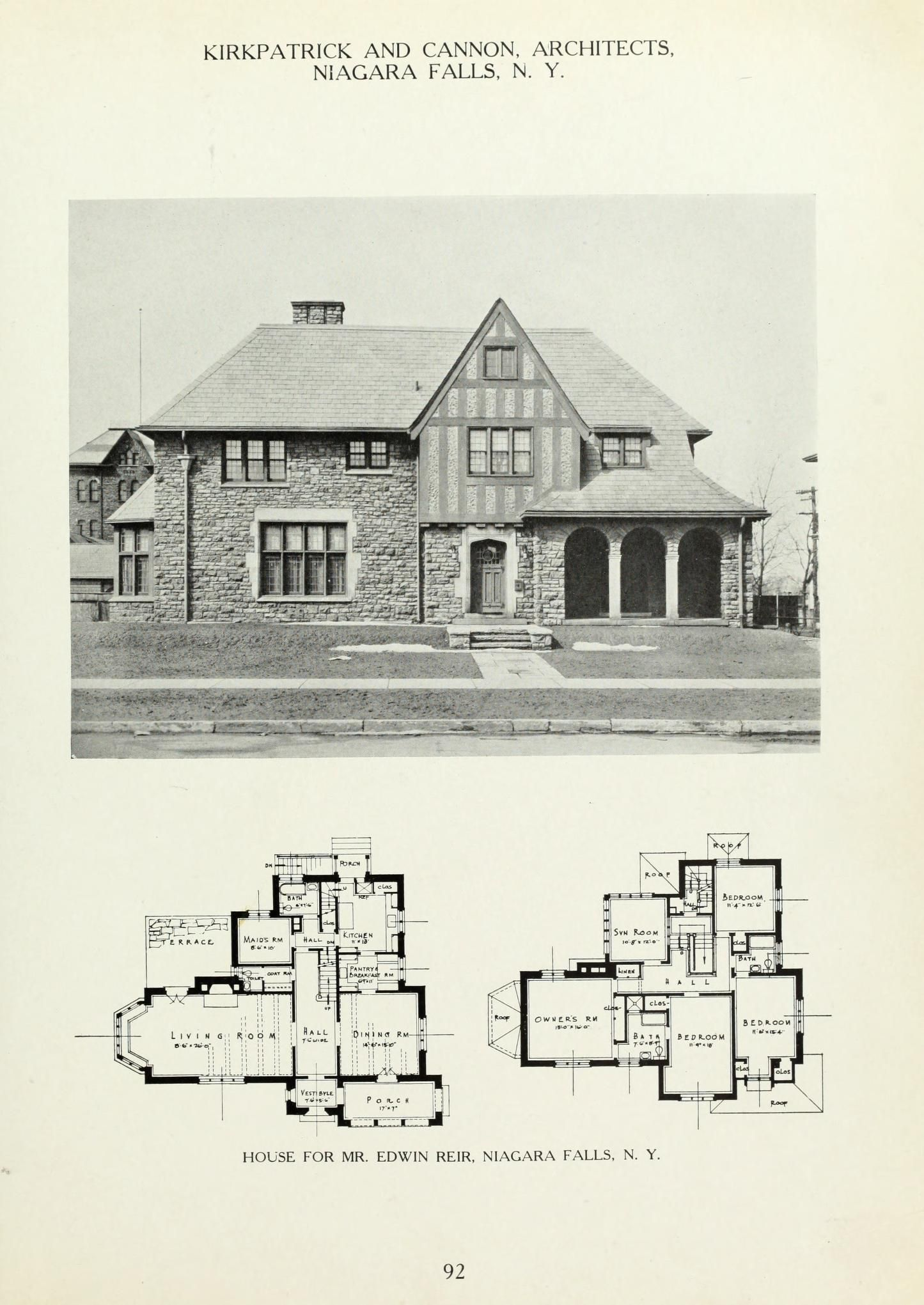 American Country Houses Of Today Day Frank Miles 1861 1918 Free Download Borrow And Streaming Internet Archive Country House Floor Plan Family House Plans Luxury House Plans