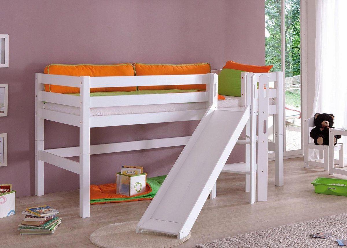 Einzel/Hochbett »Eliyas« in 2020 Betten für kinder