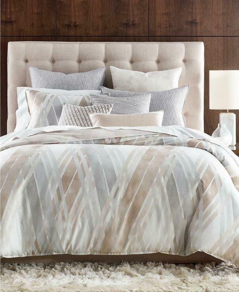 Hotel Collection Lateral Natural 400 Tc Pima Cotton King Duvet Cover Brand New Hotelcollection C In 2021 Hotel Collection Bedding Hotel Collection Mattress Furniture