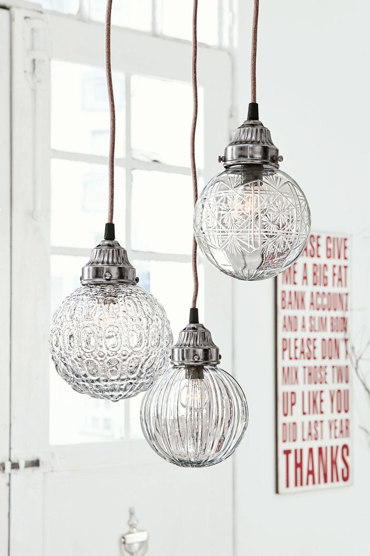 Hangelampe 3er Set Lidia Loberon Coming Home Lampe Hange Lampe Lampen Und Leuchten