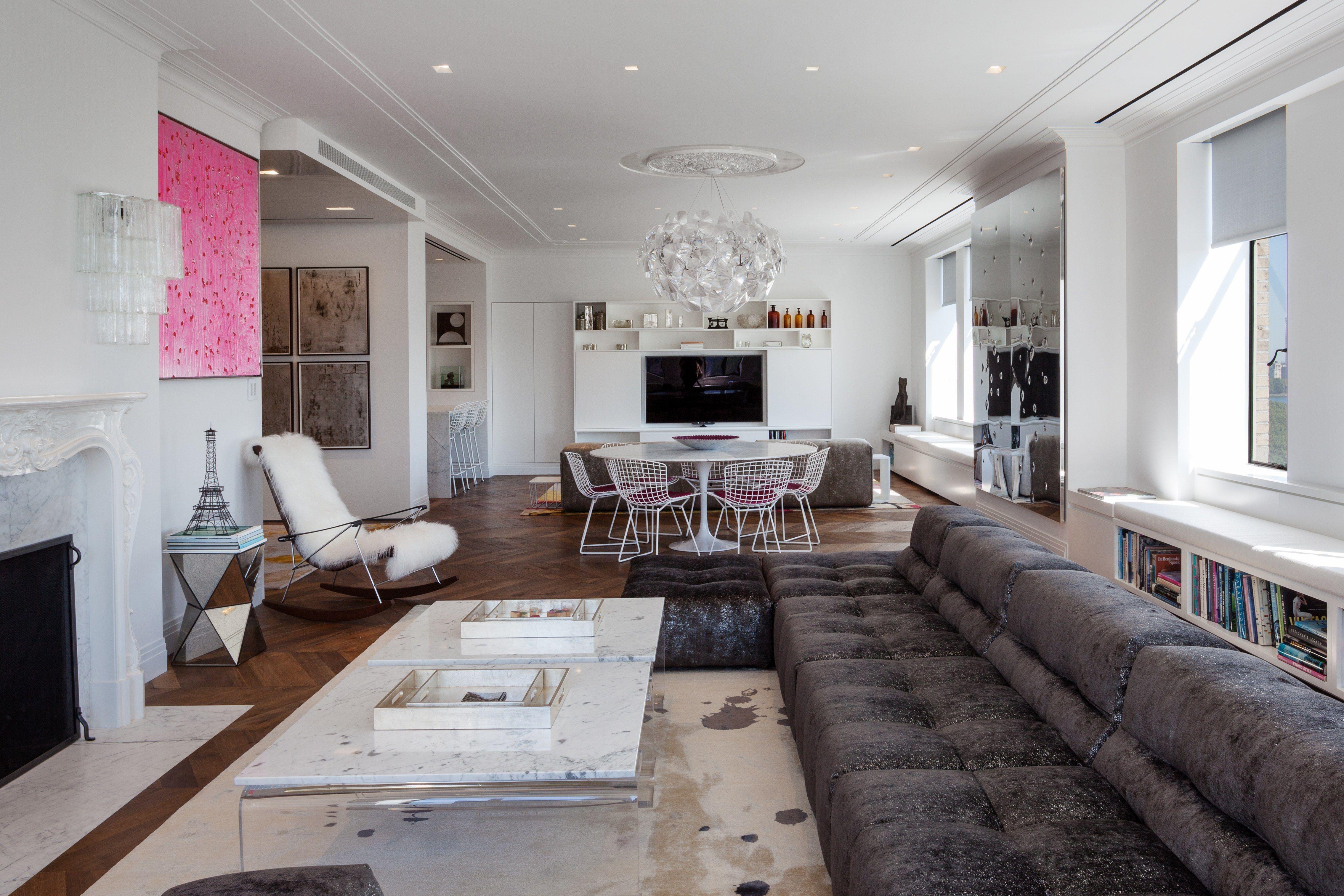 Marc Murphy and Pamela Schein Murphyu0027s Upper West Side Apartment Is a New  York Stunner