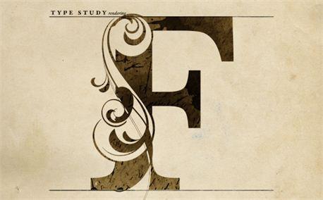 Letter F Letter F Lettering Typography