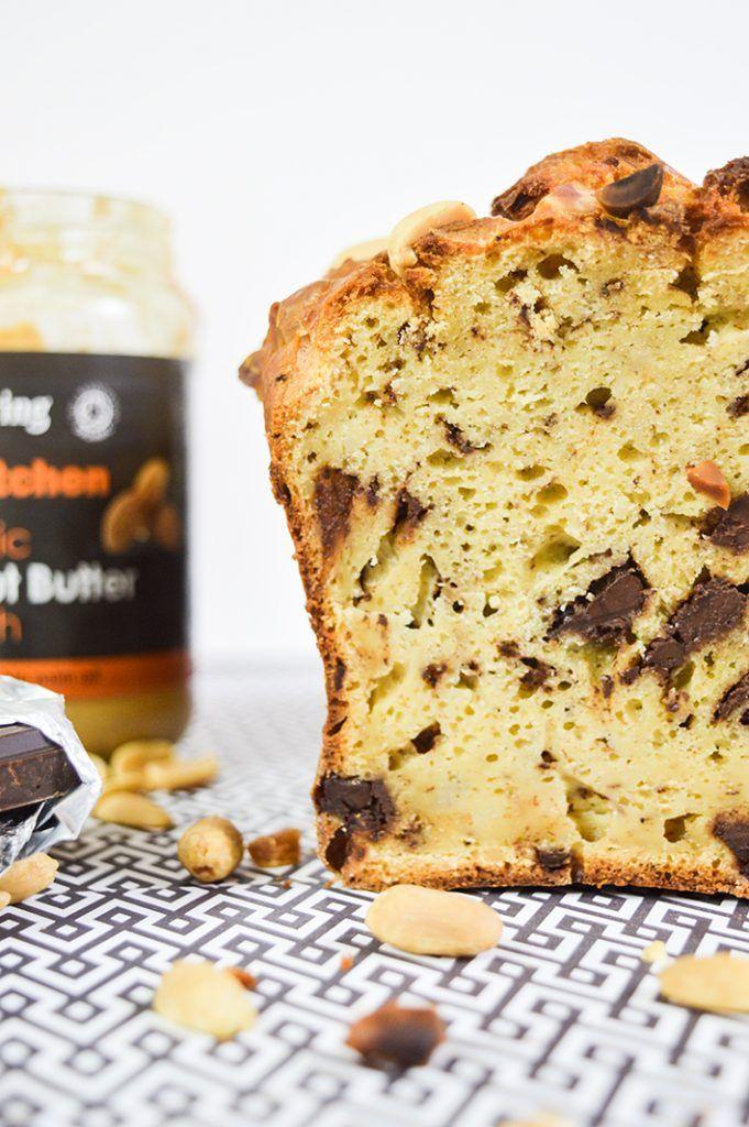 Cake healthy au beurre de cacahuète et chocolat en 2020 ...