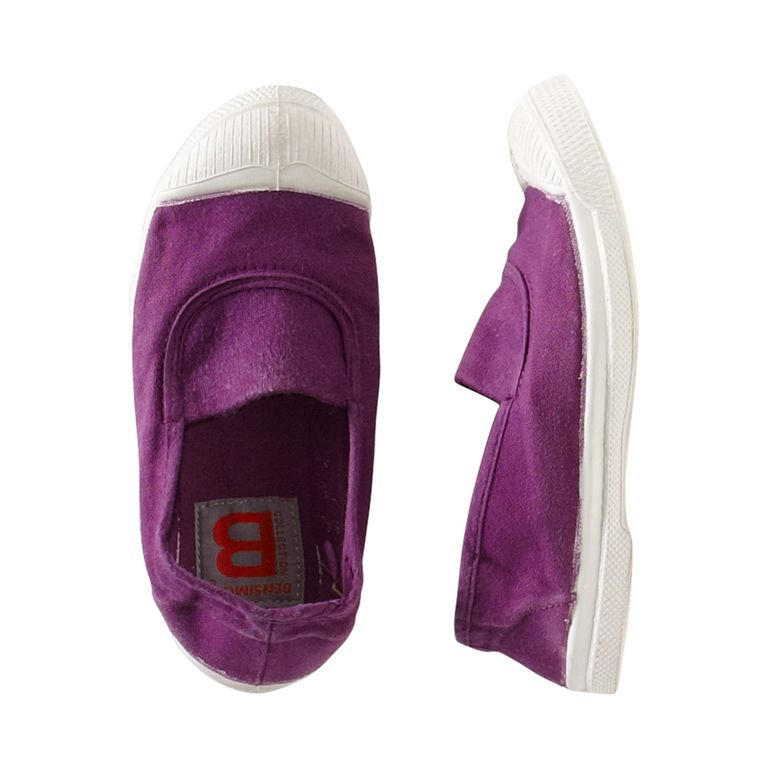 Bensimon's Tennis Elastique sneaker is perfect for kids of all ages! The iconic brand was established in Pris, France in 1954 (and it's still famil...
