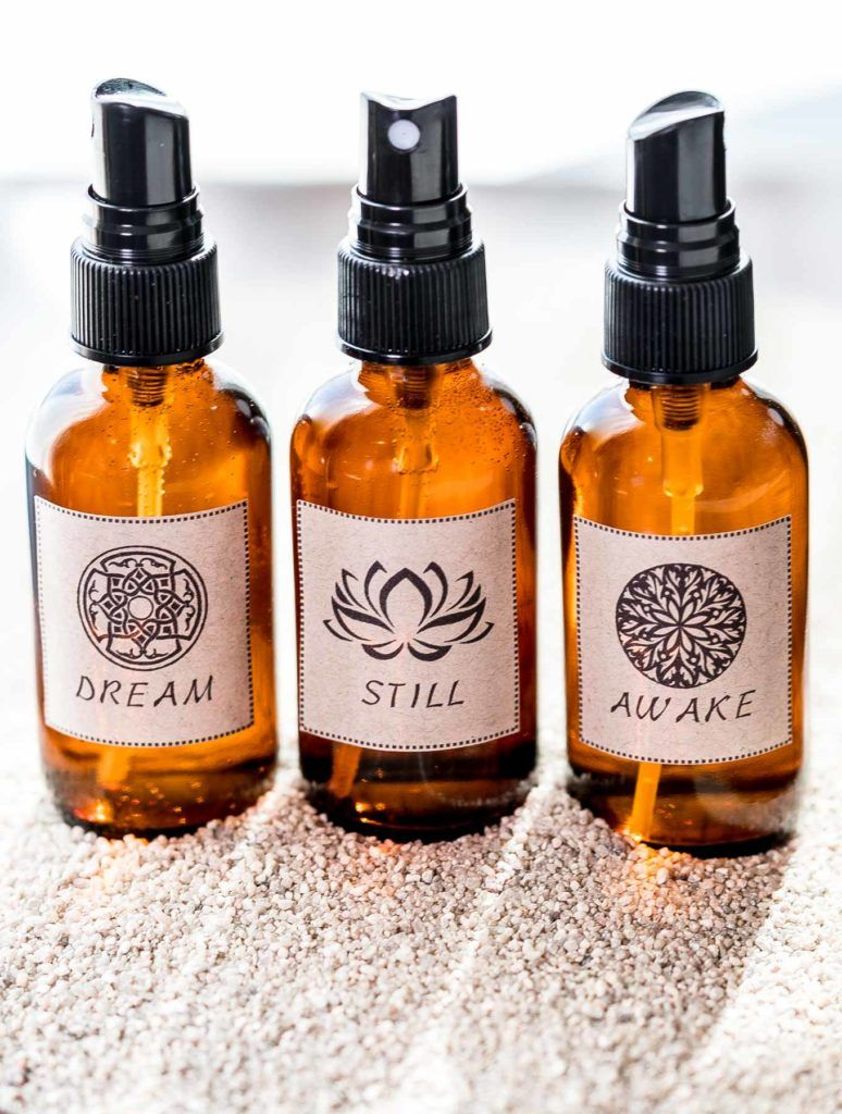 DIY Essential Oil Aroma Sprays