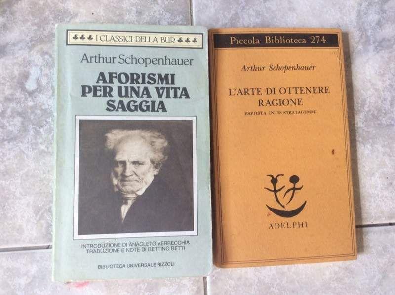 Risultati immagini per schopenhauer libri