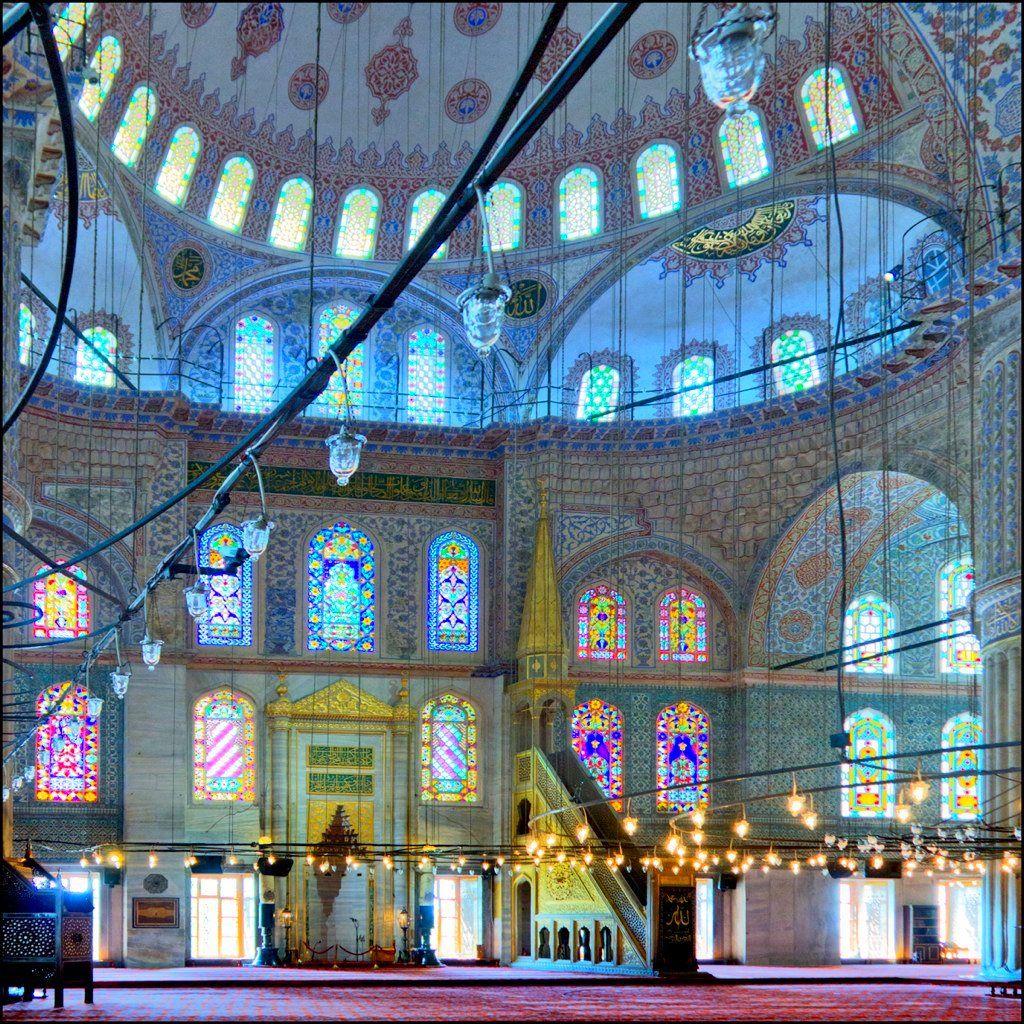 Interior de la Mezquita Azul - Serie | Flickr - Photo Sharing!