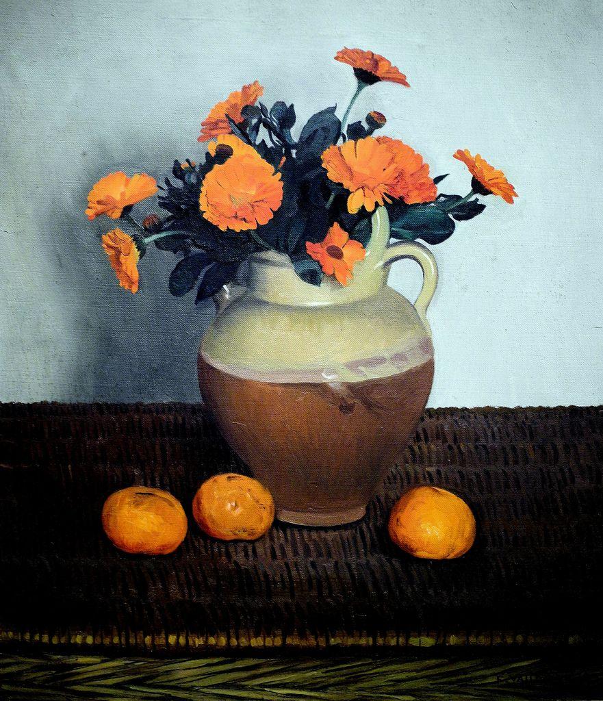 Felix Vallotton - Marigolds And Tangerines National Art