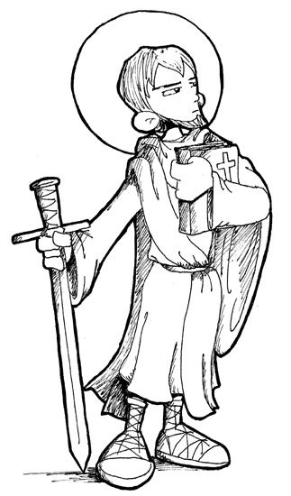 children coloring pages peter paul - photo#12