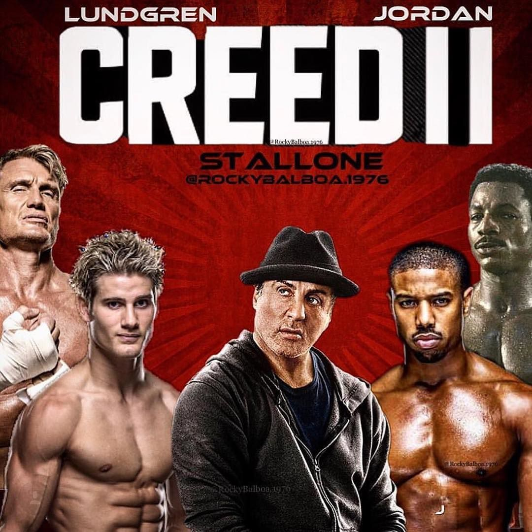 Hey Officialslystallone Heard You Were Looking For Dragos Son For Creed 2 Well Rockybalboa 1976 Bosslogic And I Rocky Balboa Rocky Film Sylvester Stallone