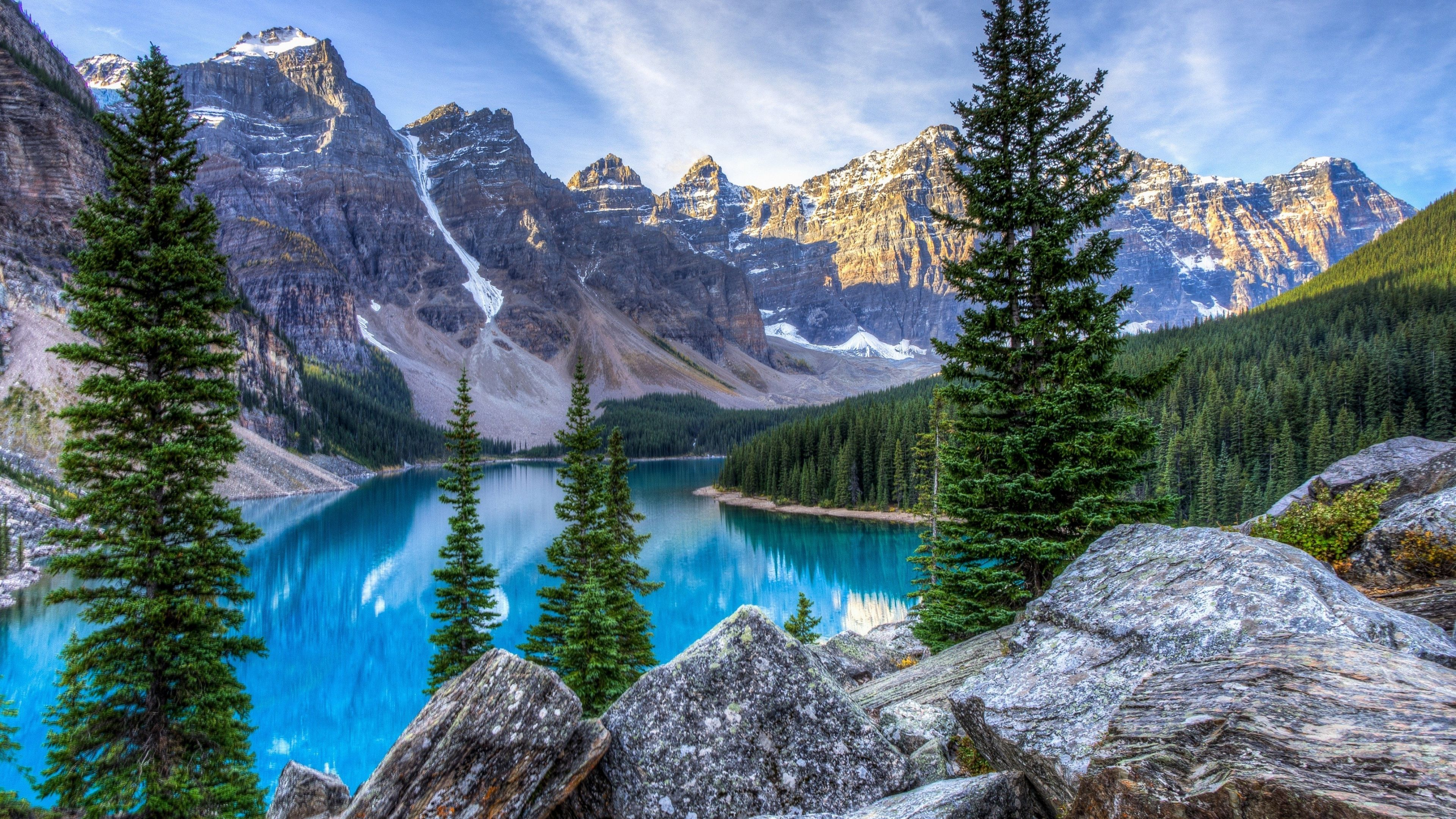 Moraine Lakecanada Oc 38402160 Https Ift Tt 2lbnwz6 Lake Landscape Mountain Photos Canada Lakes