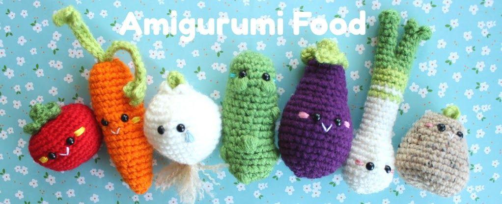 Amigurumi Food | Crochet & Amigurumi | Pinterest | Patrones