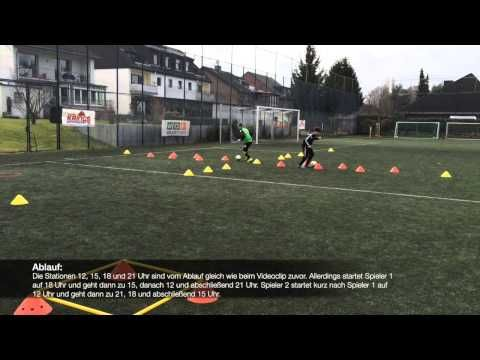 Fussballtraining Individualtraining Mit Technik