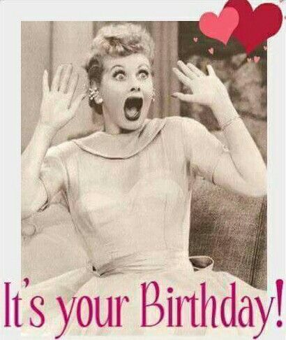 I Love Lucy Birthday