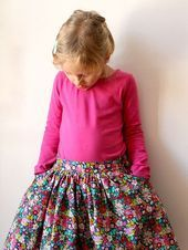 KCW: Twirl Skirt and Tee for Clementine #twirlskirt KCW: Twirl Skirt and Tee for Clementine #twirlskirt