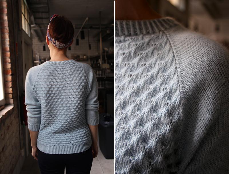 UKAS: Påfugl-genser / Peacock Sweater