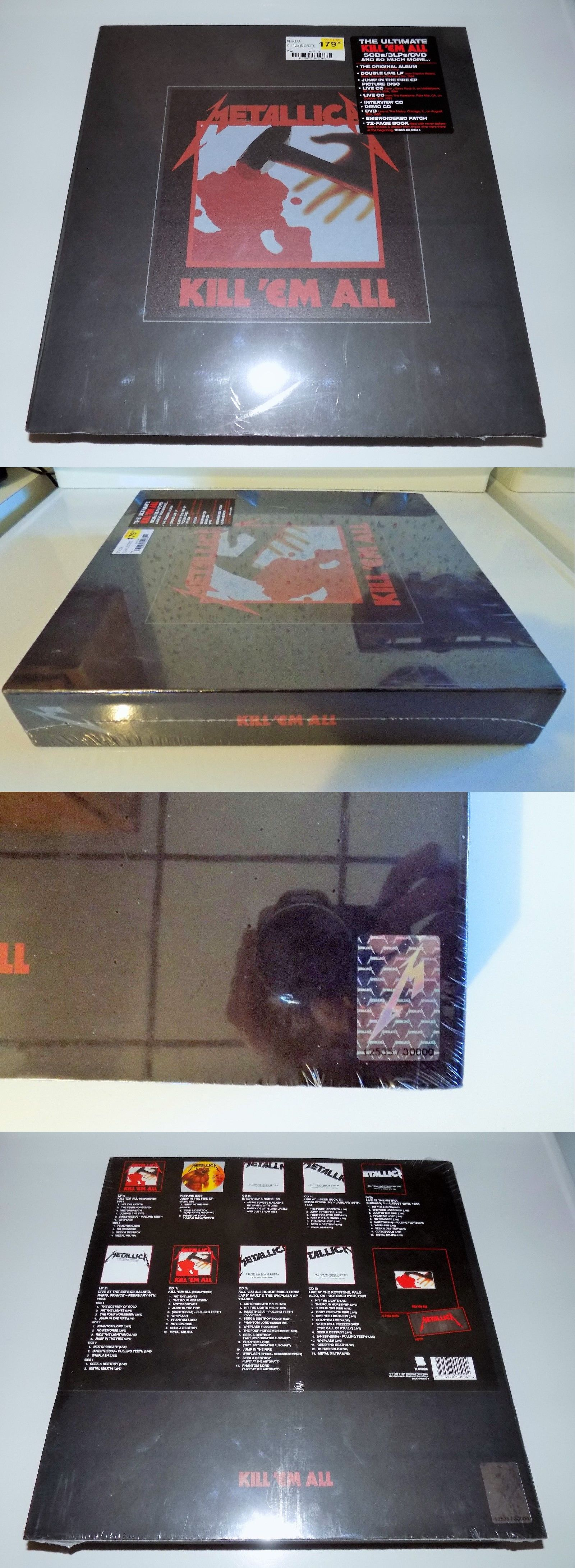 Music Albums: Metallica Kill Em All New Sealed Ultimate