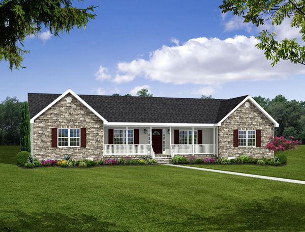 The Mathews Floorplan from Madison Homebuilders – Madison Home Builders Floor Plans