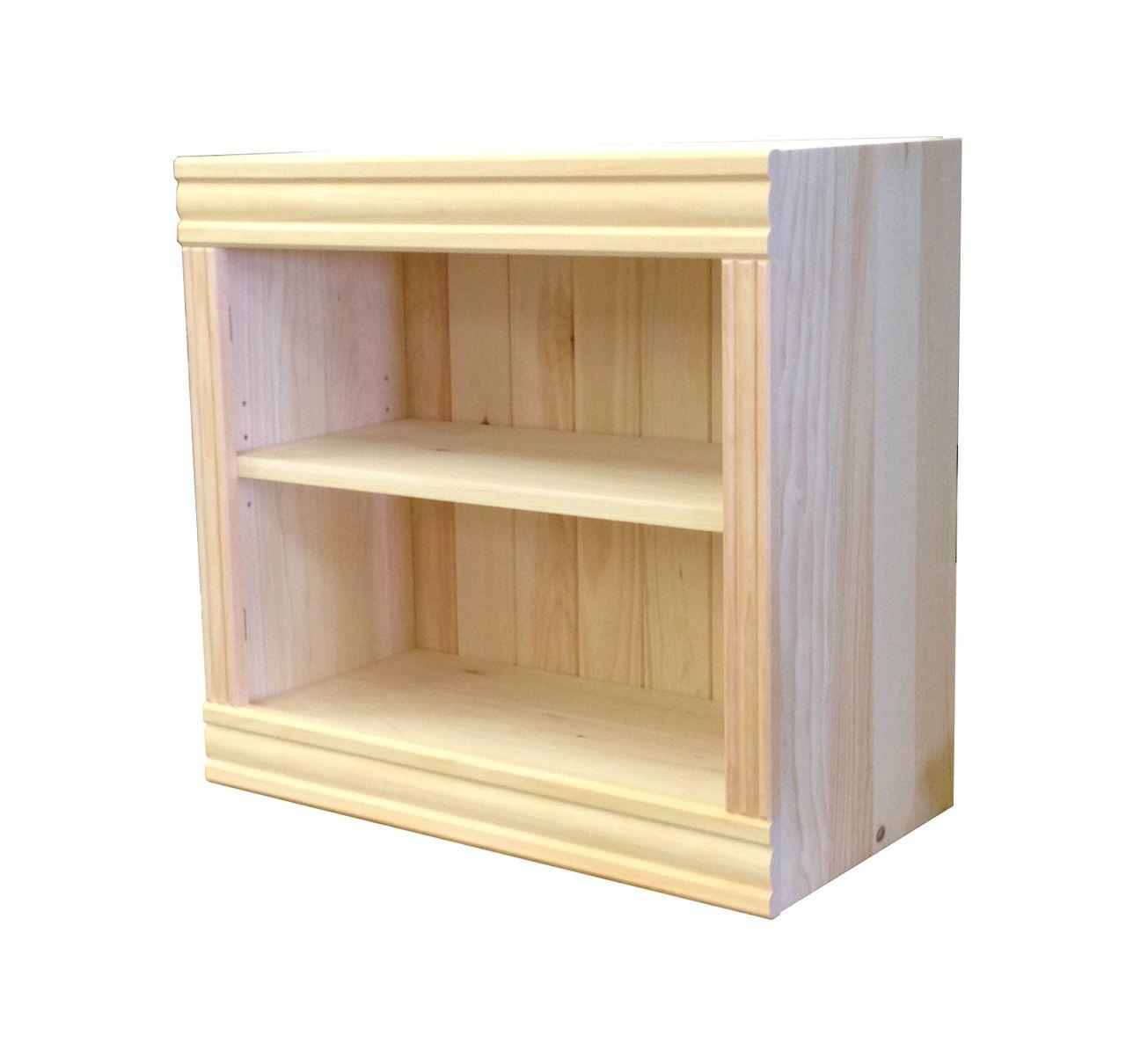 pine bookcases p pair open asp