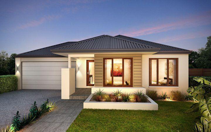 Metricon home designs the mantra coastal facade visit for Home designs victoria
