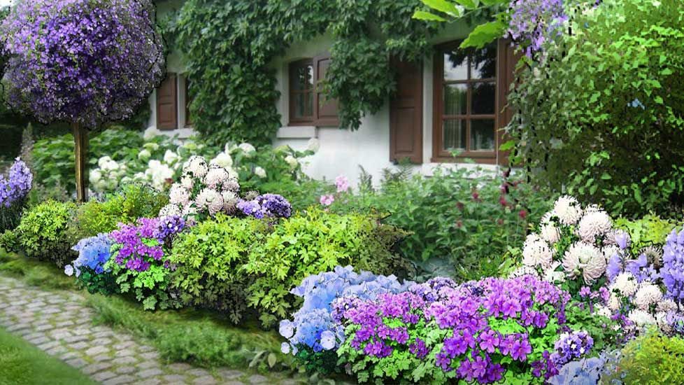 Online garden planning and design tool - upload photo and ...